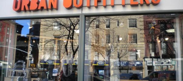 Tienda Urban Outfitters Nueva York