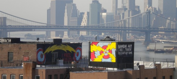 Vistas de Manhattan desde el Puente de Williamsburg. Nueva York