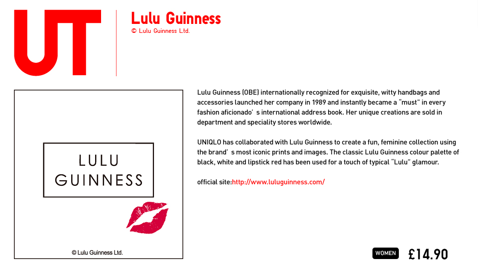 Colección de Lulu Guinness para Uniqlo