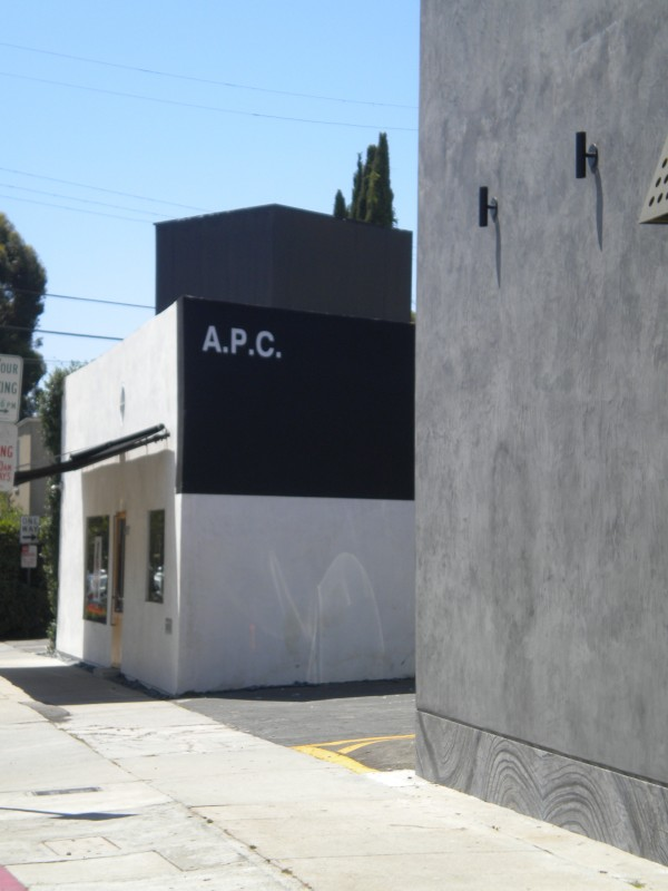 A.P.C en Melrose Ave. Los Angeles