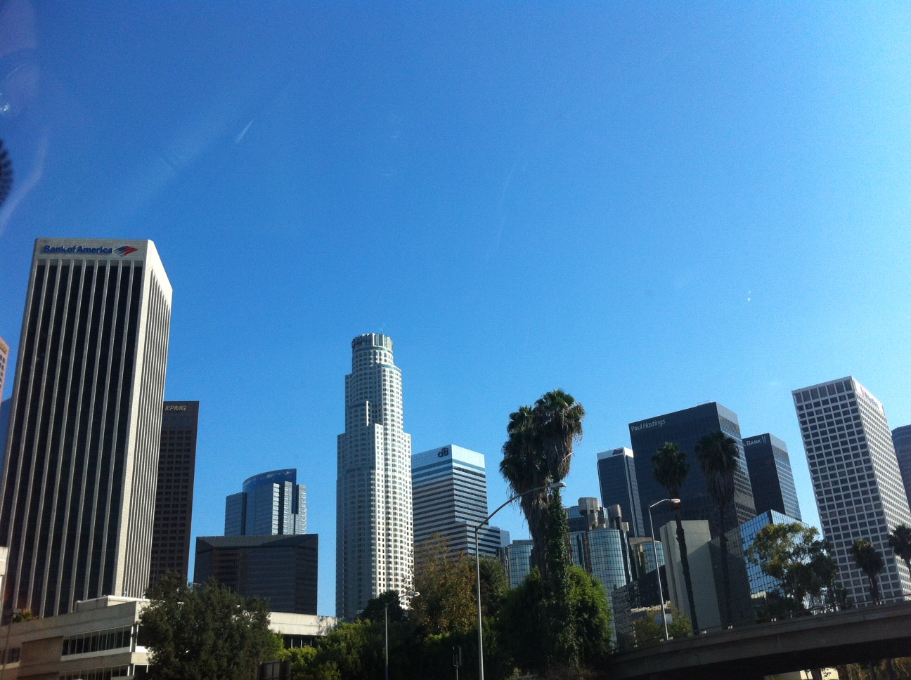 Edificios del downtown de Los Angeles. California