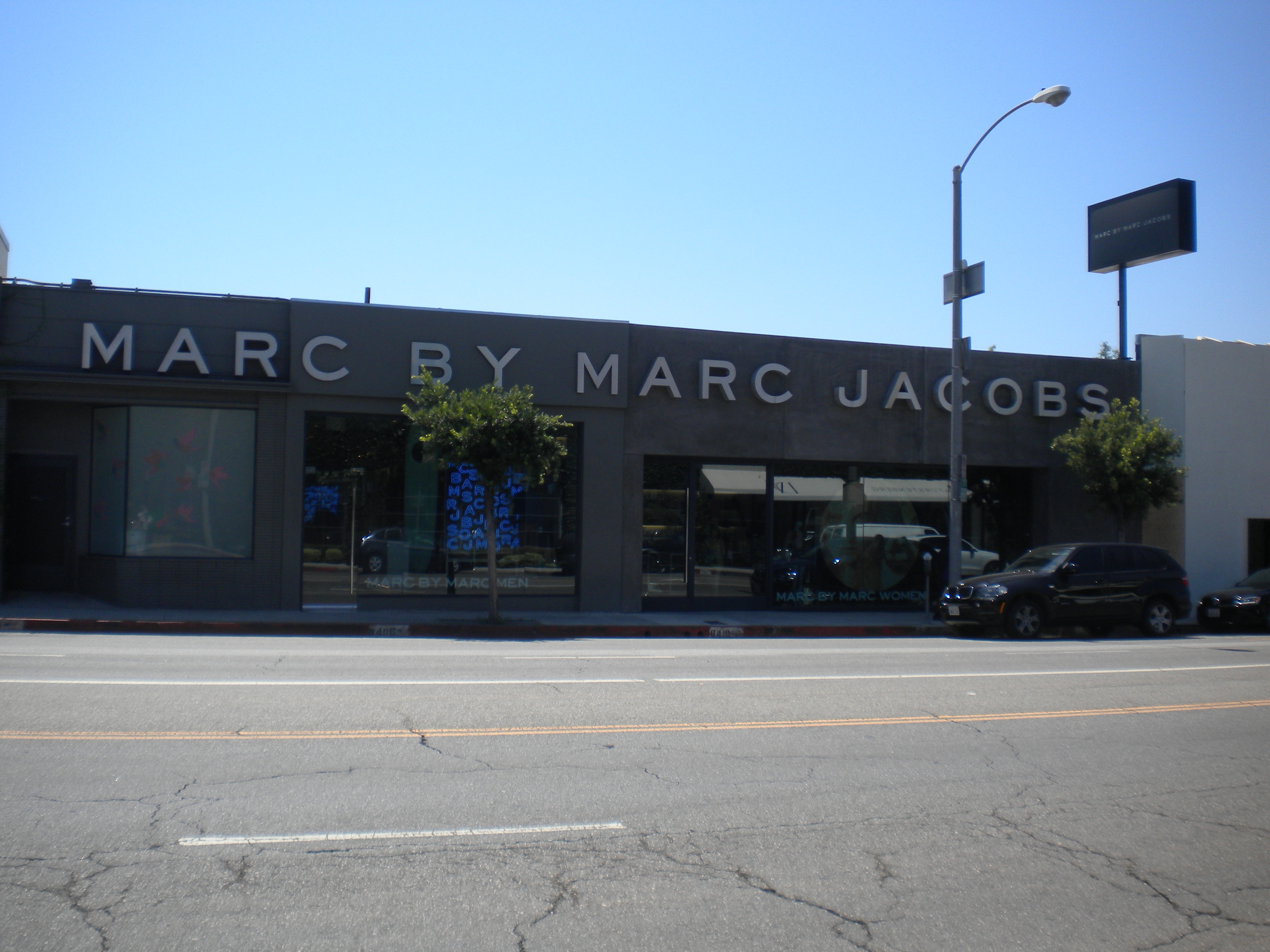 Marc Jacobs en Melrose Ave. Los Angeles