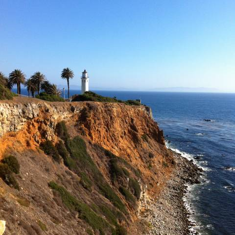 Faro de Point Vicente en Palos Verdes Dr. California