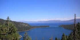 Emerald Bay en el Lago Tahoe. California