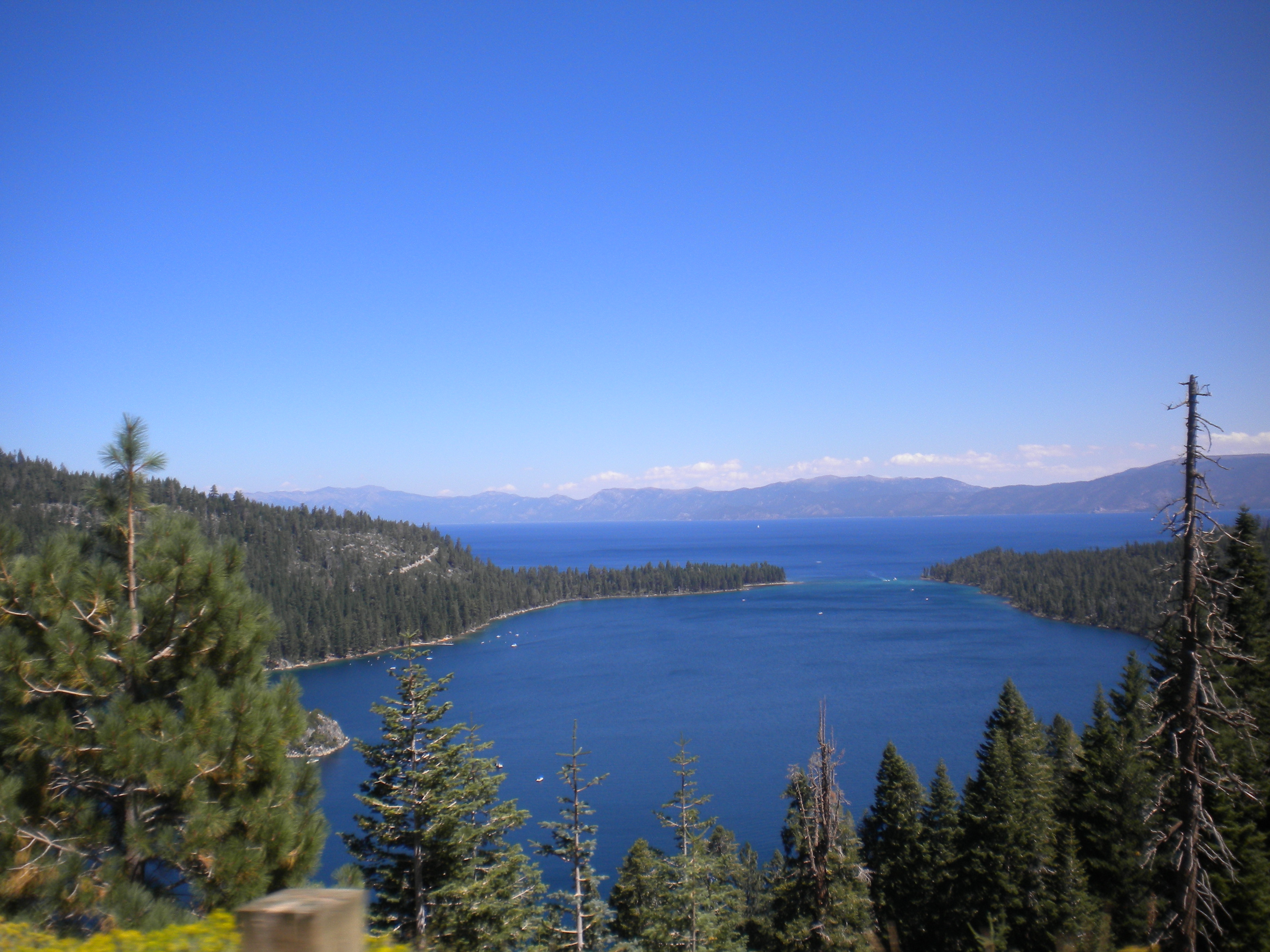 Emerald Bay en el Lago Tahoe. California