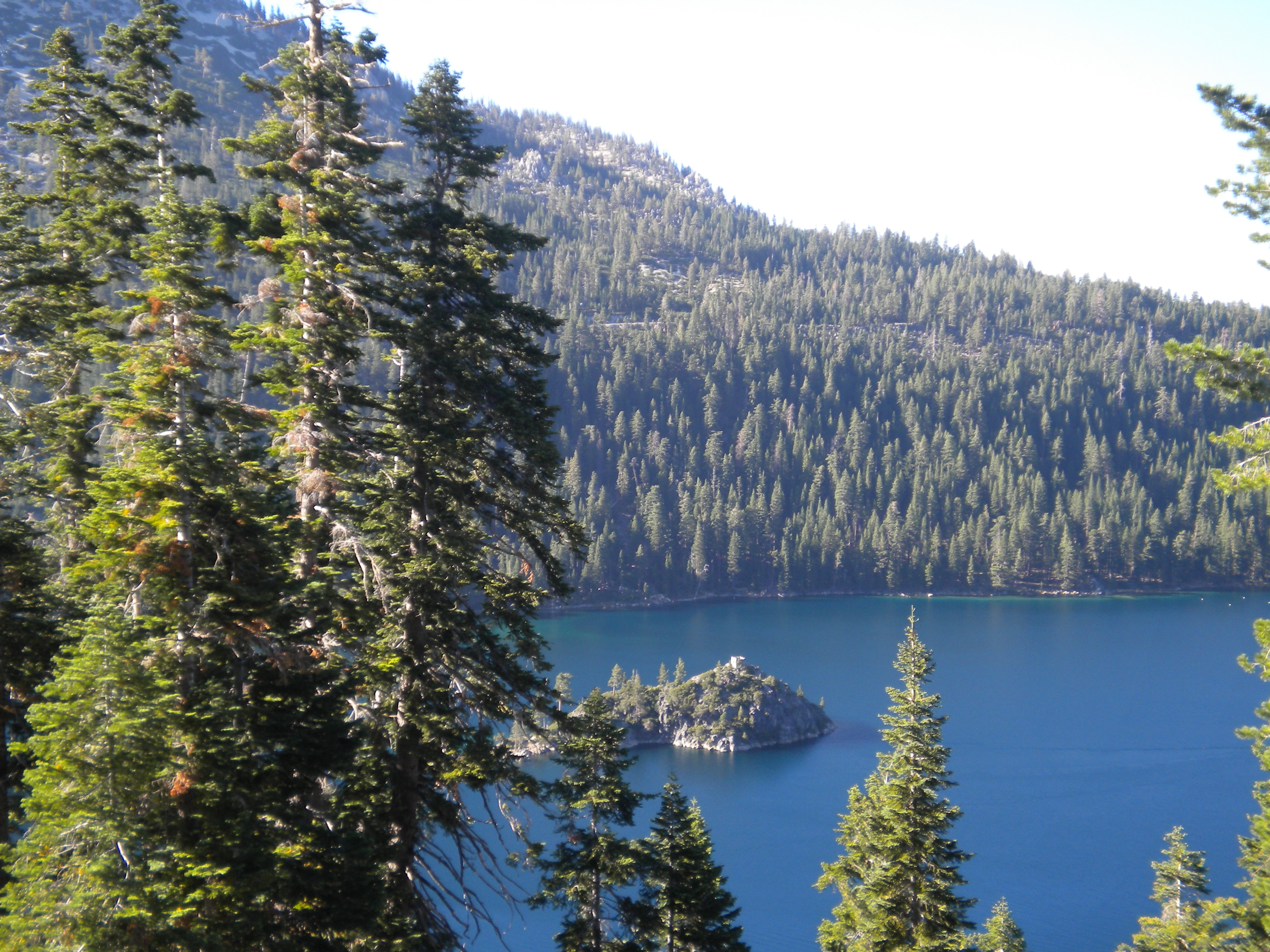 Inspiration Point en el Lago Tahoe