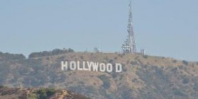 Las Colinas de Hollywood. Los Angeles. California