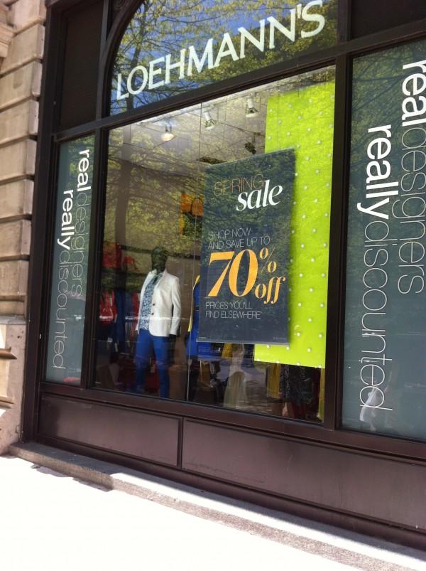 Tienda Loehmanns en Nueva York