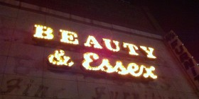 Restaurante Beauty&Essex. Lower East Side. Nueva York