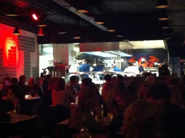 Sala del Restaurante Baut. Barrio The Plantage