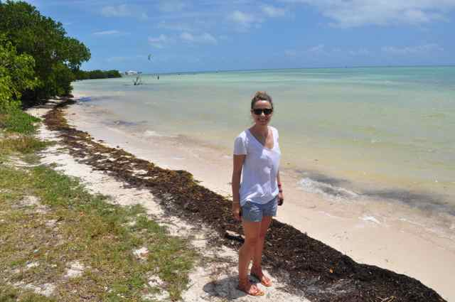 Anne Beach de camino a Cayo Hueso (Key West)
