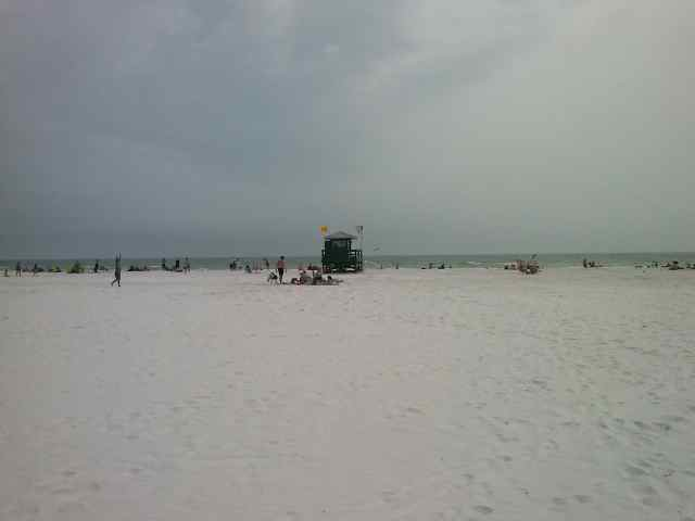 Playa Siesta Beach en Florida