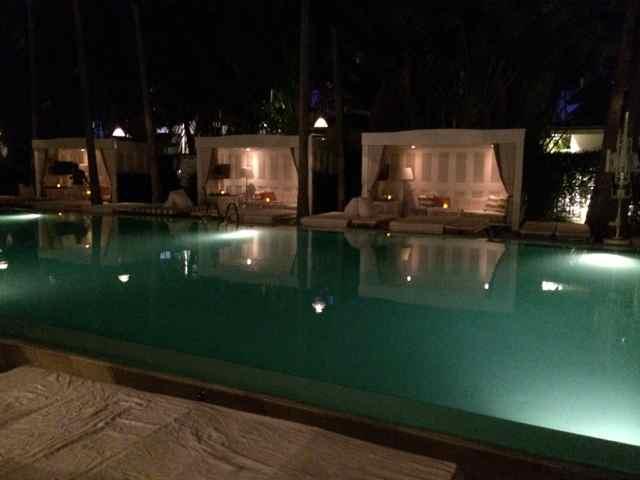 Piscina del Hotel Delano en Miami Beach