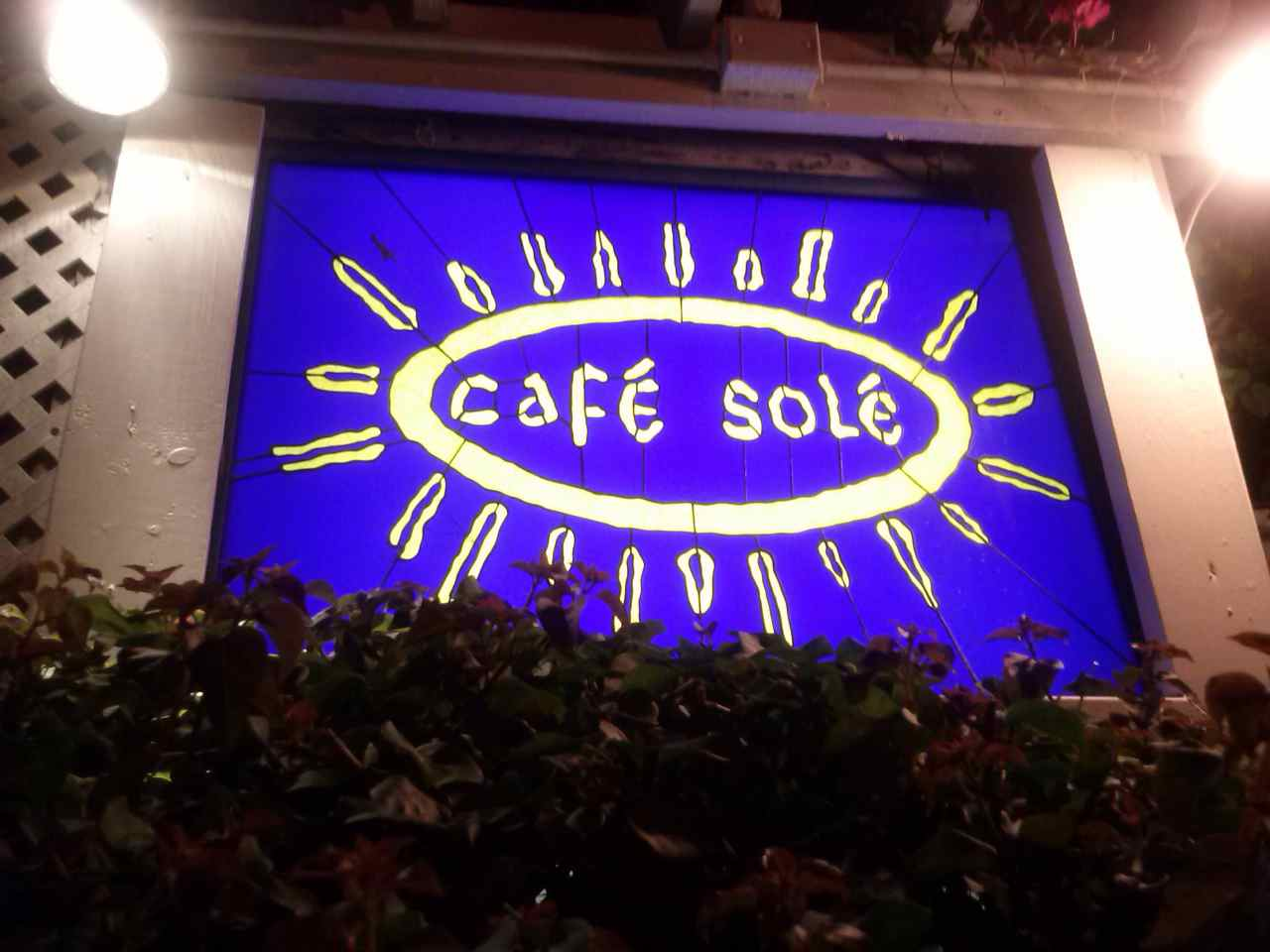 Café Solé en Key West. The Keys, Florida