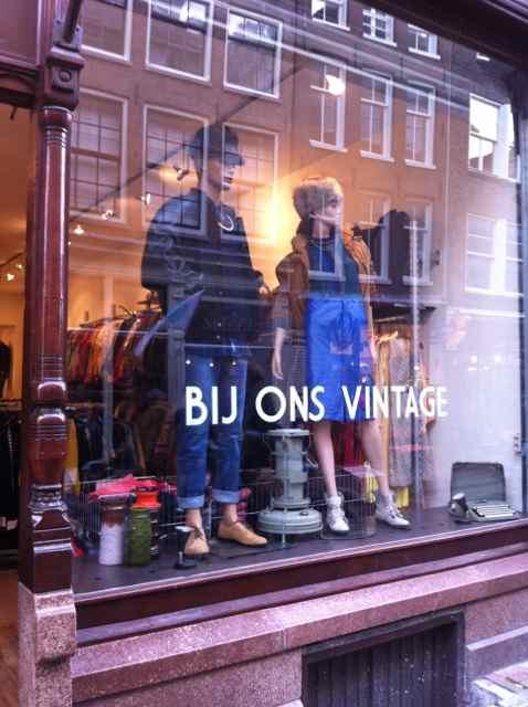 Tiendas Vintage en Amsterdam