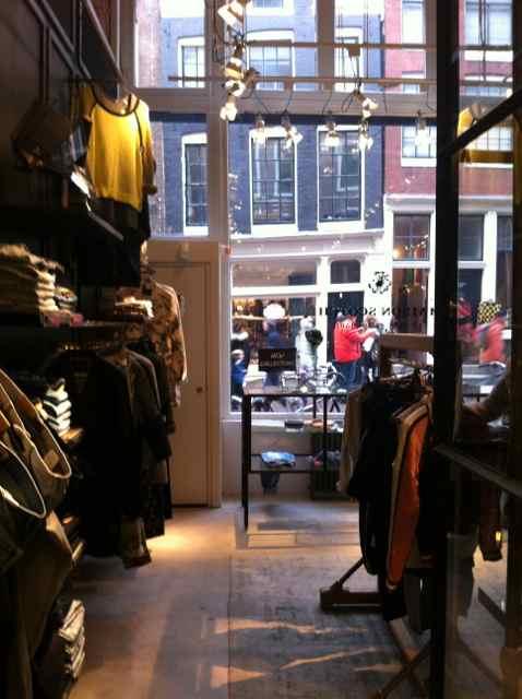 Tienda de Scotch&Soda en Amsterdam