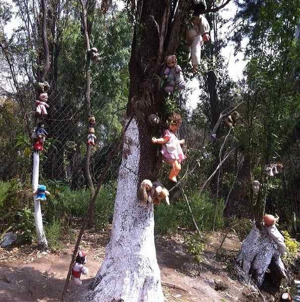 Cementerio de muñecos de Xochimilco. México DF
