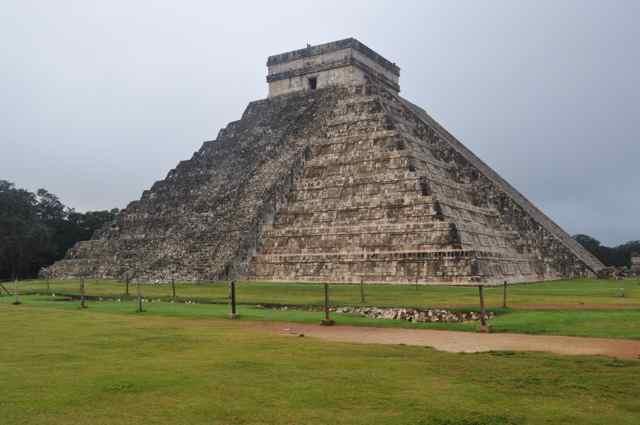 Chichén Itzá.  Península de yucatán (México)