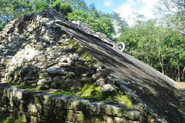 Complejo arqueológico de Cobá. Riviera Maya