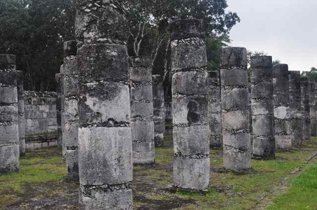 Templo de las Mil Columnas. Chichén Itzá (México)
