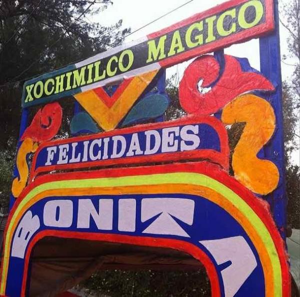 Trajineras de Xochimilco. Mexico DF