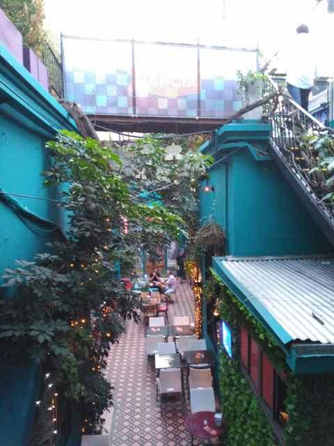 Bar Sheldon. Barrio Palermo Soho, Buenos Aires