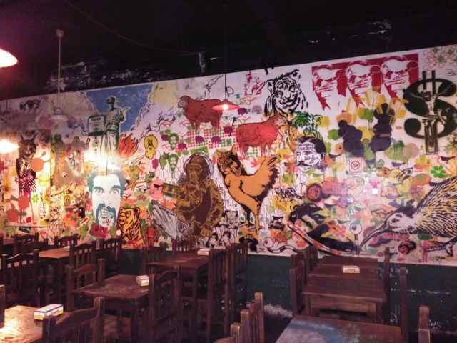 Post Street Bar. Barrio de Palermo, Buenos Aires