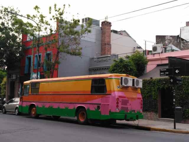 Calles del Barrio Palermo Soho en Buenos Aires