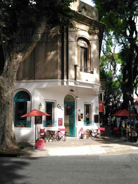Bares en el Barrio de Palermo Soho. Buenos Aires