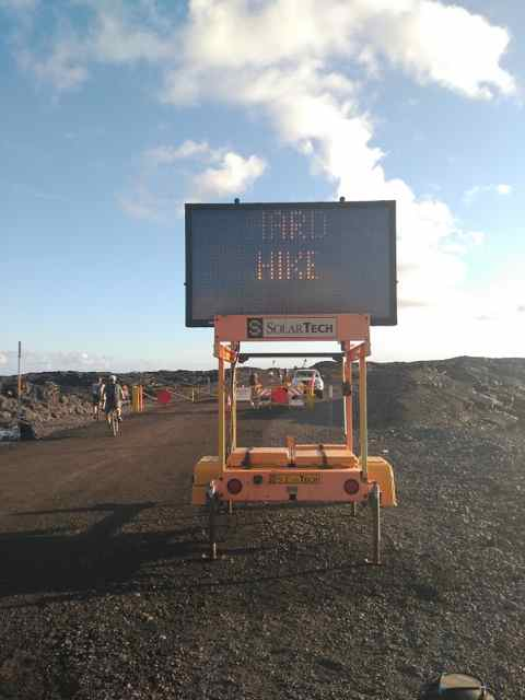 Ruta a pie por Hawaii Volcanoes National Park